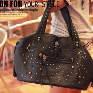 Buy REDOPIN Studded Shoulder Bag 1023047094