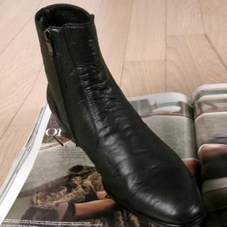 Buy ROSEMAN Genuine Leather Ankle Boots 1022108745