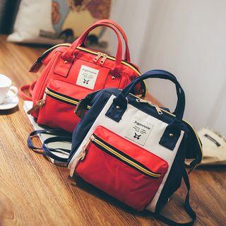 Color Block Zip Handbag 1052971749