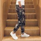 Camouflage Straight-Leg Pants 1596