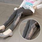 Lace Panel Maternity Leggings 1596
