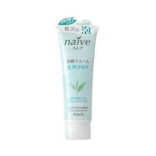 Kracie Naive Facial Cleansing Foam (Green Tea) 110g