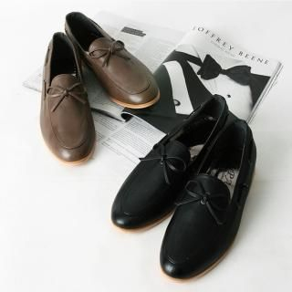 Picture of BoynMen Bow Front Loafers 1021685853 (Loafer Shoes, BoynMen Shoes, Korea Shoes, Mens Shoes, Mens Loafer Shoes)