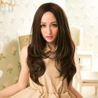 Long Full Wig - Curly Dark Brown - One Size от YesStyle.com INT