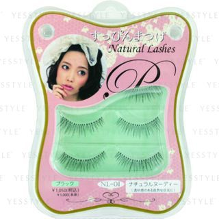 Image of ANNEX JAPAN - Natural Lashes (#NL-01) 3 pairs
