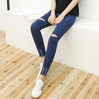 Distressed Skinny Jeans 1057761504