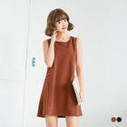 Back Loop Sleeveless Dress 1596