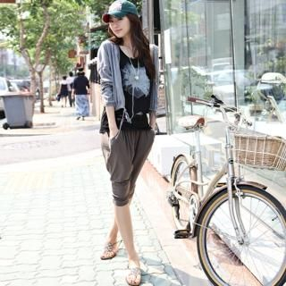 Picture of STYLEKELLY Cropped Pants 1022595995 (STYLEKELLY Apparel, Womens Pants, South Korea Apparel)