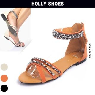 Buy Holly Shoes Beaded Strappy Sandals 1022870176