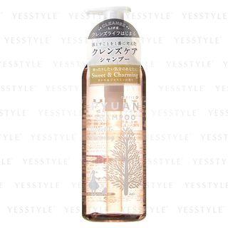 Kao - Merit Pyuan Sweet & Charming Shampoo (Cassis & Jasmine) 425ml 1060718694