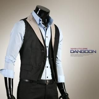 Buy DANGOON Two-Tone Vest 1022318351