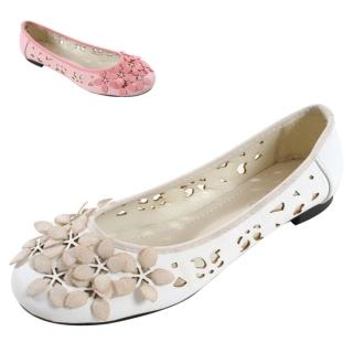 Buy Blingstyle Shoes Cutout Accent Flats 1022476573