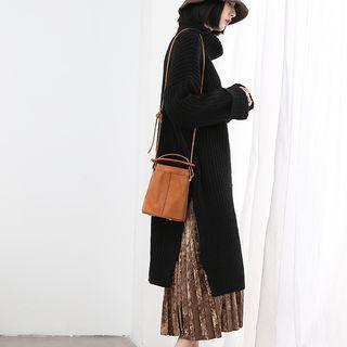 Side Slit Long Sweater 1054833510