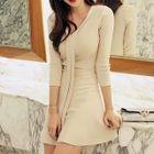 A-Line Knit Dress 1596