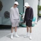 Set: Lettering Sweatshirt + Shorts 1596