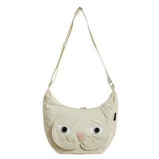 Buy Morn Creations Cat Shoulder Bag (CR – M) Cream – M Size 1011631215
