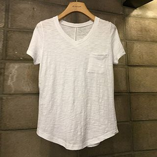 Short-Sleeve V-Neck T-Shirt 1050404830