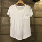 Short-Sleeve V-Neck T-Shirt 1596