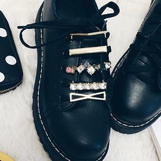 Embellished Shoe Lace Buckle
