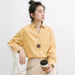 Baseris Placket Shirt Yellow - One Size