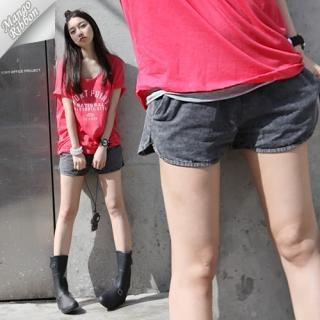 Buy Mango Ribbon Denim Shorts 1022990658
