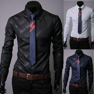 Striped Long Sleeve Shirt 1050440933
