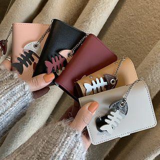 Image of Cat Applique Card Holder