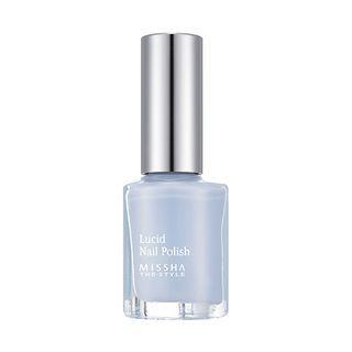 Missha - Lucid Nail Polish #BL04 Blue