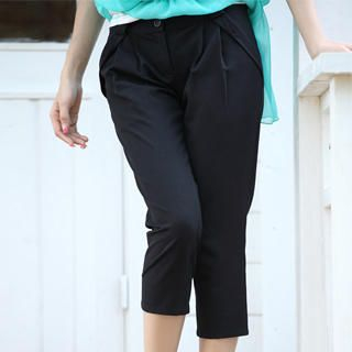 Picture of 19th Street Pleated Capri Pants 1023052538 (Womens Capri Pants, Womens Pleated Pants, 19th Street Pants, China Pants)