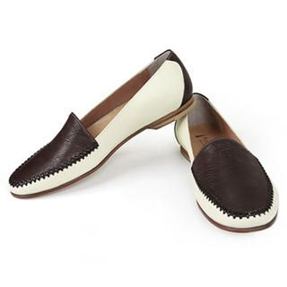 Buy Purplow Two-Tone Loafers 1014522412