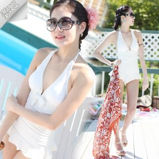 Buy Mango Ribbon Halter Swimsuit 1022969477