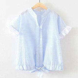 Short-Sleeve V-Neck Shirt 1059655316