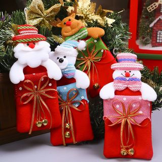 Christmas   Snowman   Gift   Bag