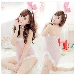 Bunny Girl Lingerie Costume Set 1046195290