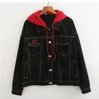 Panel Hooded Jacket 1596
