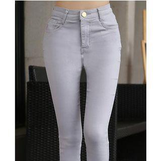 Plain Skinny Pants
