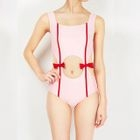Bow Detail Cutout Swimsuit 1596