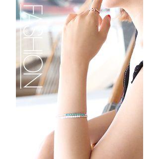 Two-Tone Beads Bracelet 1044581889