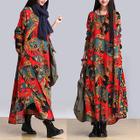 Print Maxi Dress 1596