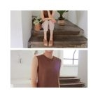 Sleeveless Knit Top 1596