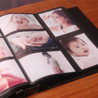 Large Patterned Adhesive Photo Album