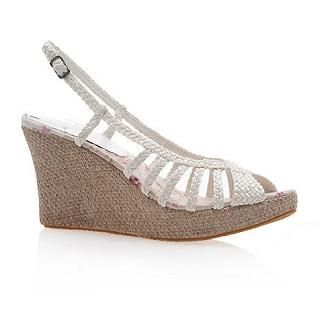 Buy Smoothie Braided Strappy Wedges 1022580631