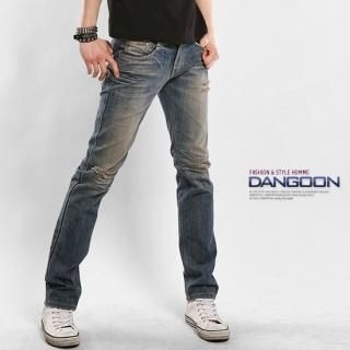 Buy DANGOON Straight-Cut Washed Jeans 1022691022