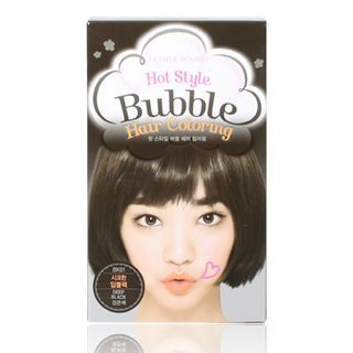 Etude House - Hot Style Bubble Hair Coloring (#BK01 Deep Black) 1pack 1050376879