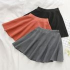 Ribbed A-Line Skirt 1596