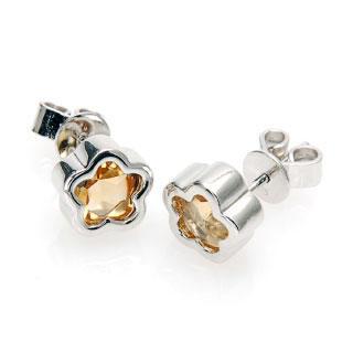(Li Qiu) Golden Autumn Earrings