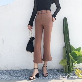 Boot-Cut Capri Pants 1062502672