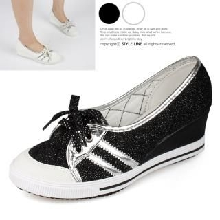 Picture of STYLE LINE Lace-Up Wedge Sneakers 1022566794 (Sneakers, STYLE LINE Shoes, Korea Shoes, Womens Shoes, Womens Sneakers)