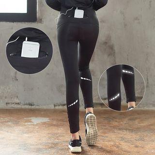 Printed Yoga Pants 1060587184