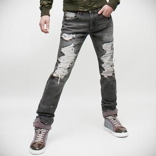 Buy Peeps Distressed Washed Jeans 1022441674